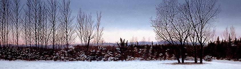 Frozen Sunset (124 x 27 cms.)