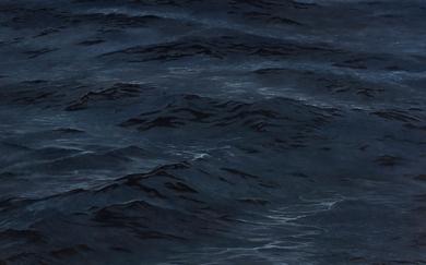 Big Blue (125 x 125 cms.)