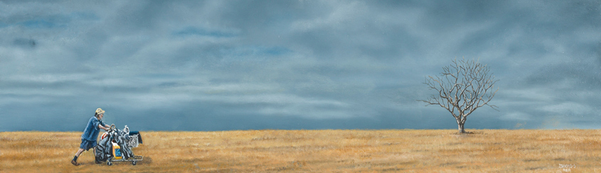Coming Back (38x60 cms.)